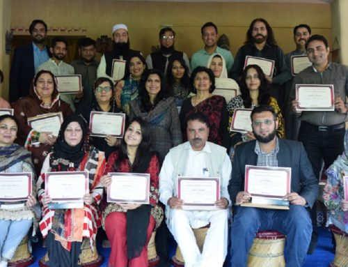 Three-Day Training from October 18 to 20, 2019