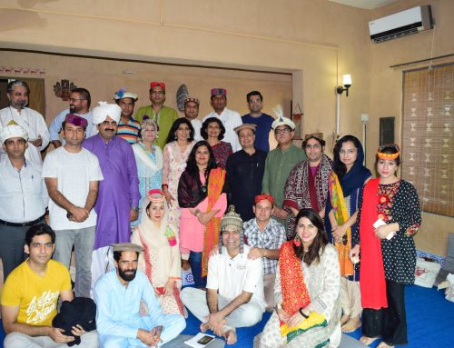 Three-Day Training on Pluralistic Folklore from 8th to 10th Sept, 2018